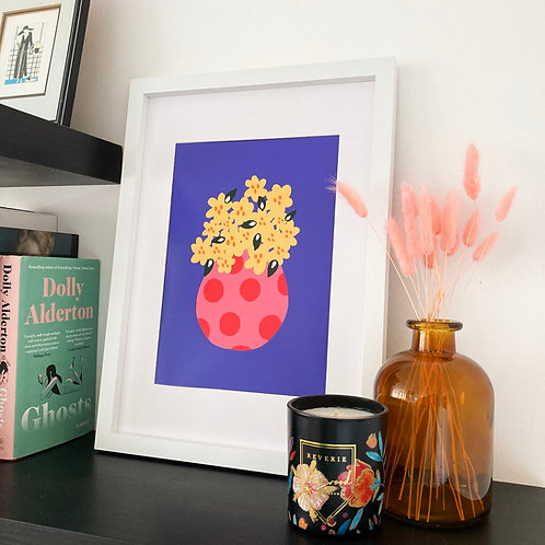 Bunch of Flowers Print