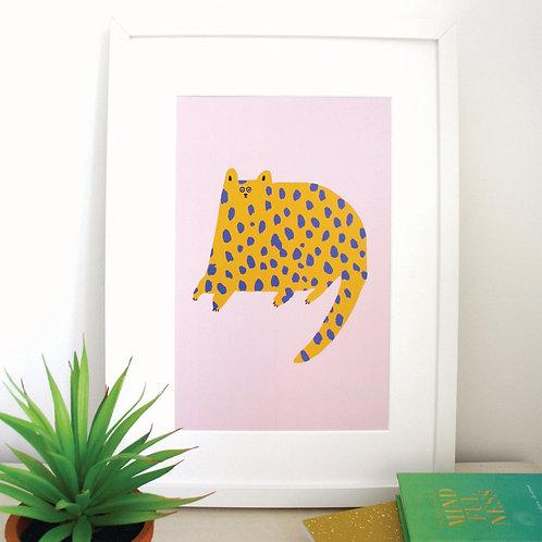Dotty Cat Print