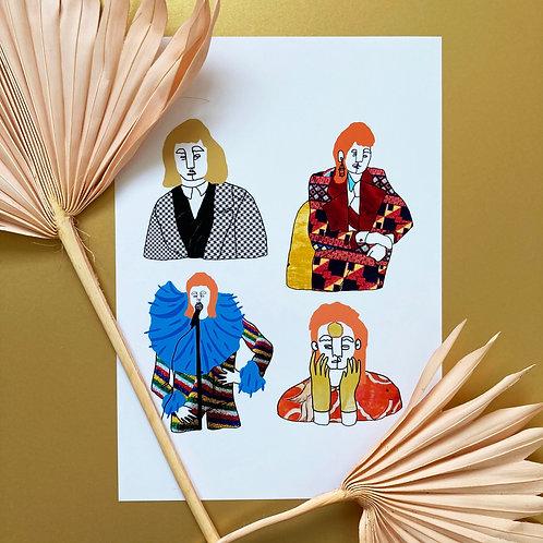 Bowie Print