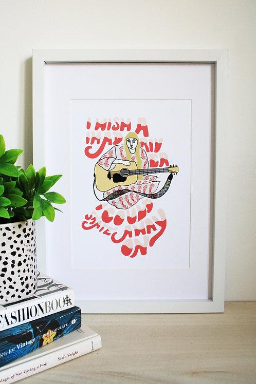Joni Mitchell Print