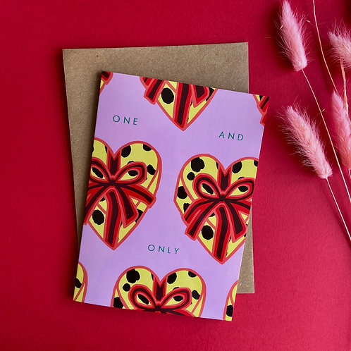 One & Only Card