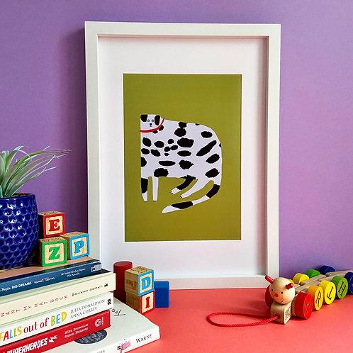 Dalmatian Dog Print