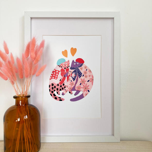 Vivienne's Loved Up Print