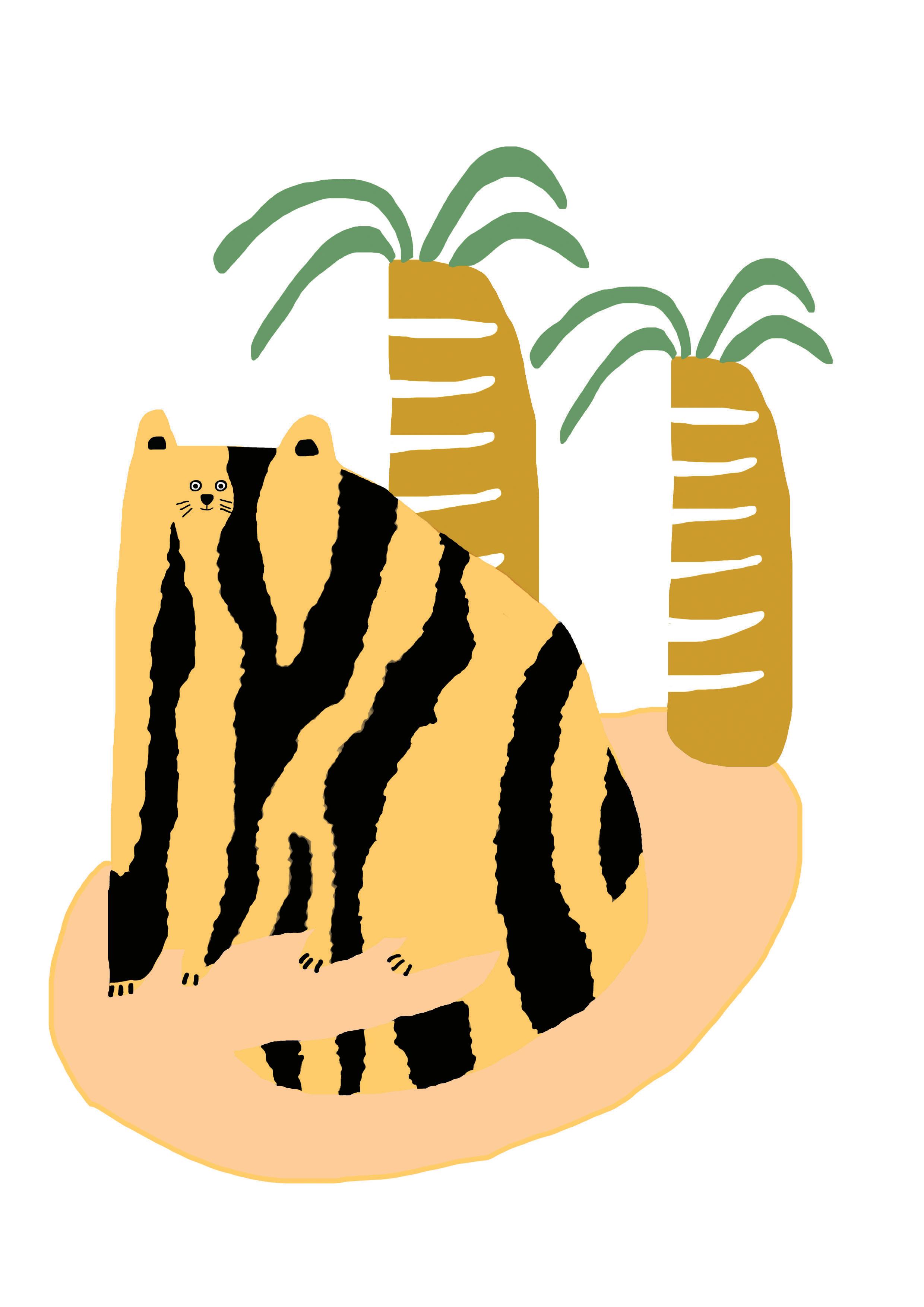 tiger trees