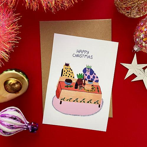 Christmas Dinner Card