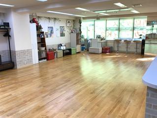 西島ダンスアカデミィK2の床面がイケ面に生まれ変わりました!