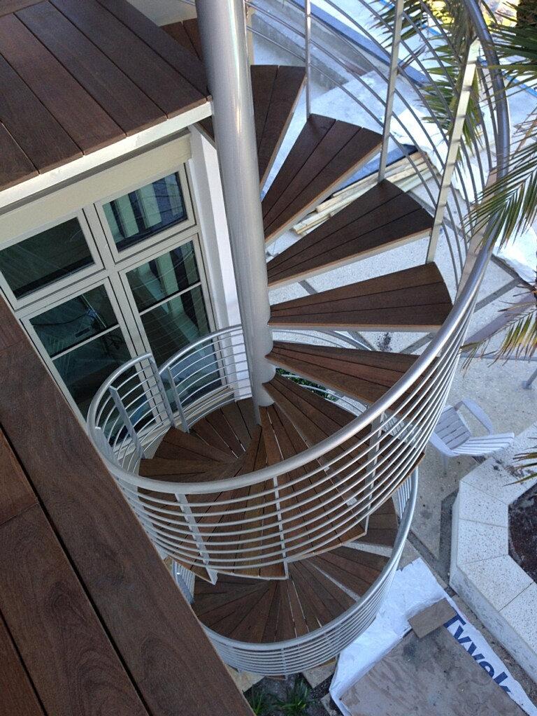Spiral staircase joy studio design gallery best design - Exterior metal spiral staircase cost ...