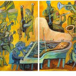 Concierto Amarillo (díptico)