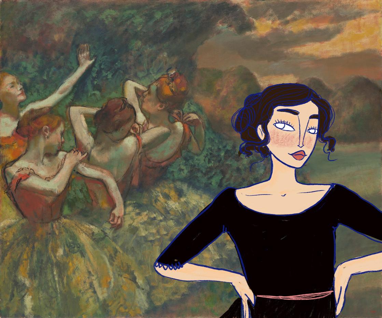 Ballerine Degas