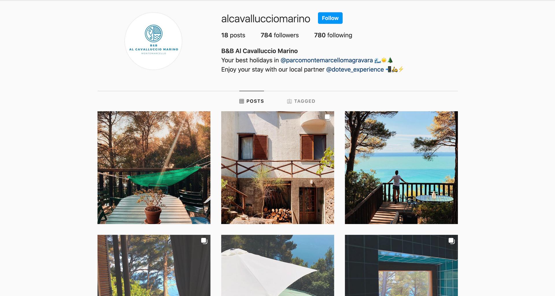 Al Cavalluccio Marino Instagram