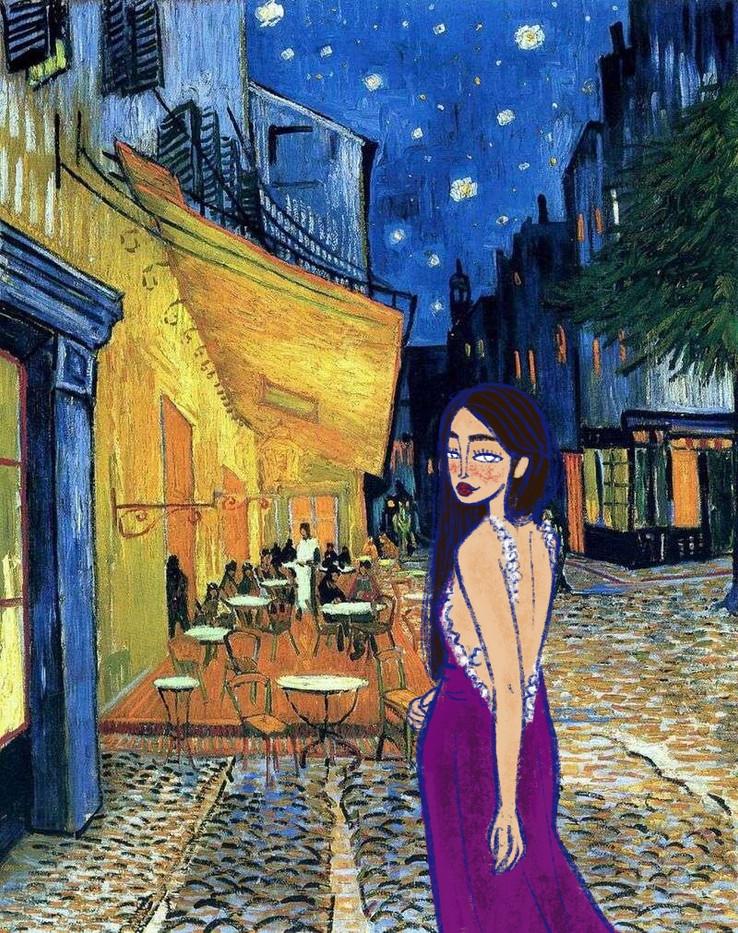 Cafè Arles di Van Gogh