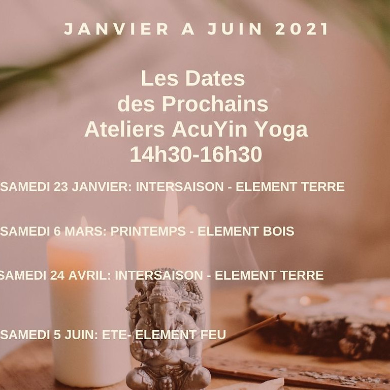 Atelier Yin Yoga  - Element Eau