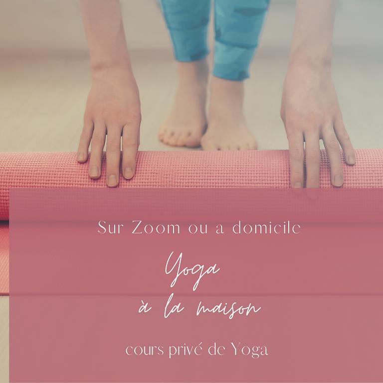 Cours Prive ou Semi Prive de Yoga