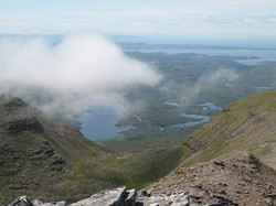 View from Quinag