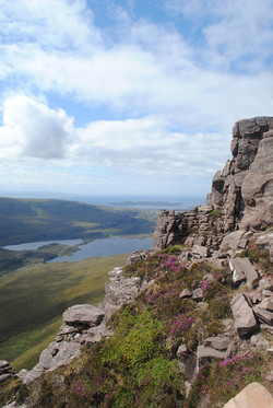View from Stach Pollaidh