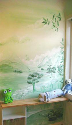 Opposite wall nursery
