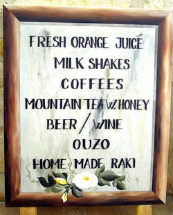 Old fashioned looking sign