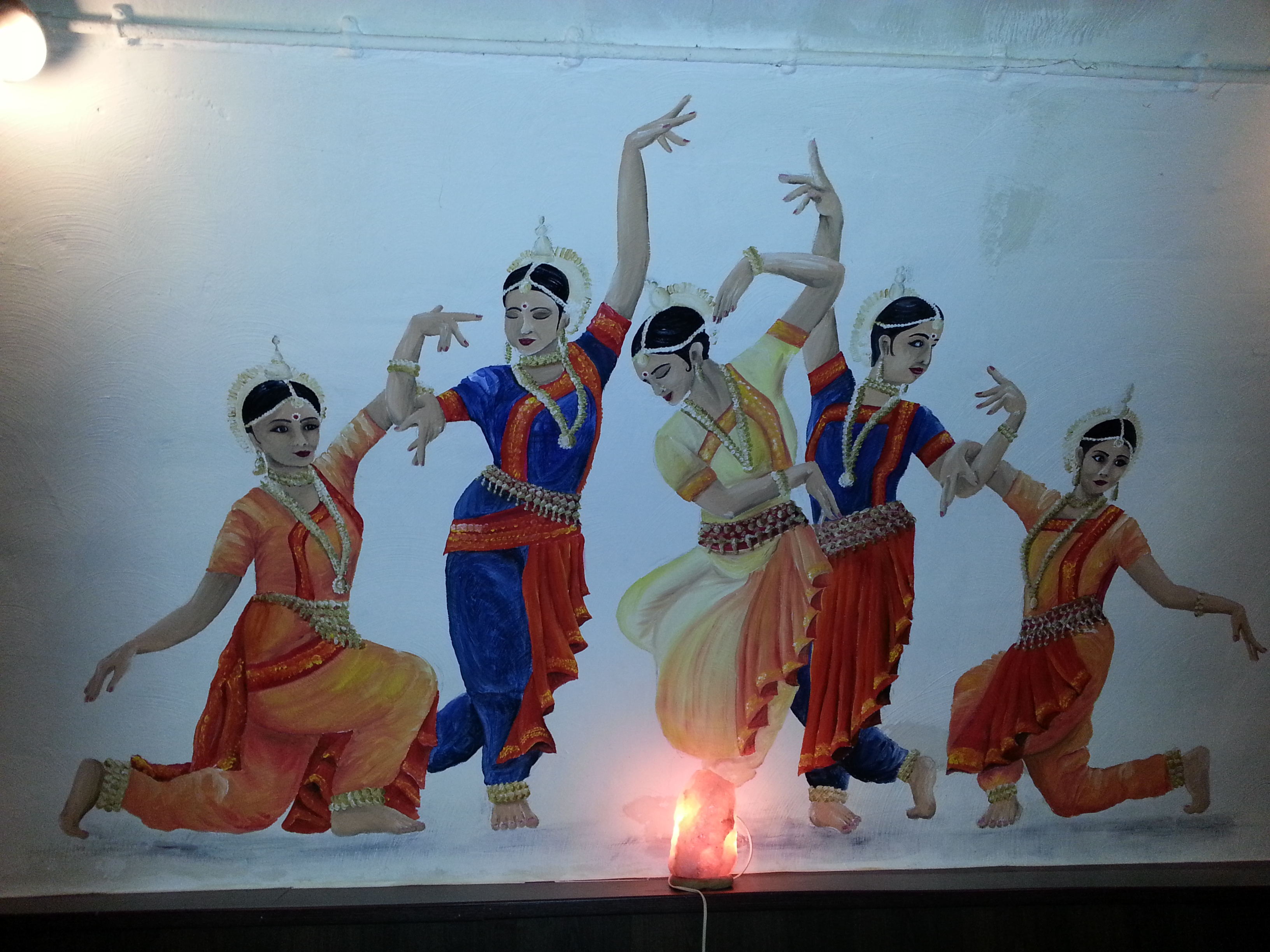 Indian classical dancers