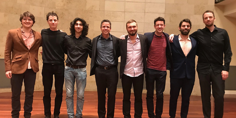 World Premiere - 7 Studies for Guitar San Francisco Conservatory of Music