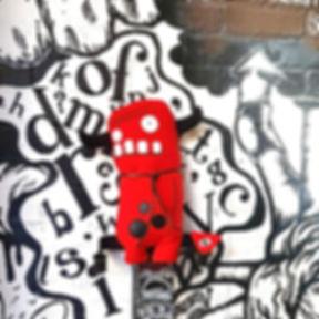 Frank Evil Red Devil Toy
