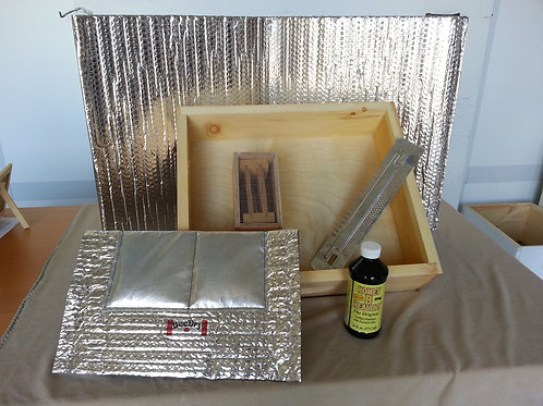 Deluxe hive winterizing kit