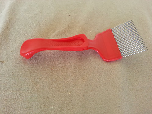 Standard uncapping fork