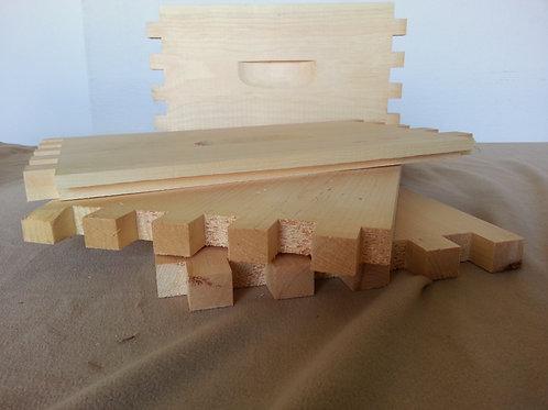 Unassembled Deep Box