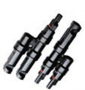 Solar splitter pair MC4-Y, 1x M-2F / 1x F-2M