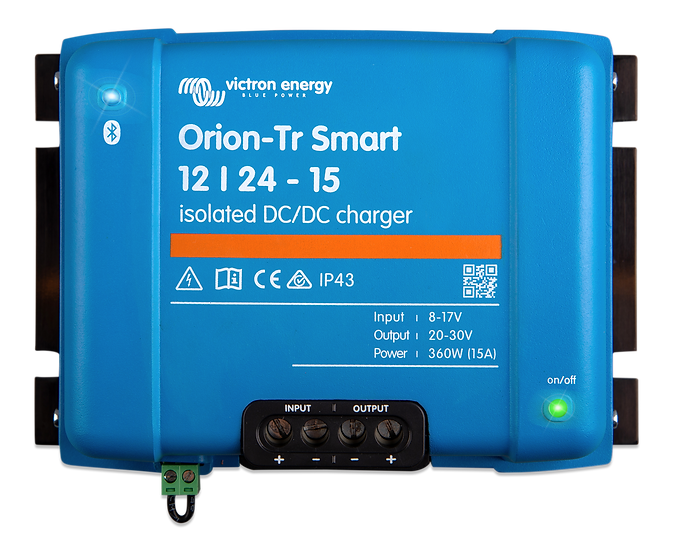 Orion-Tr Smart 24/12-30A (360W) Isolated DC-DC charger