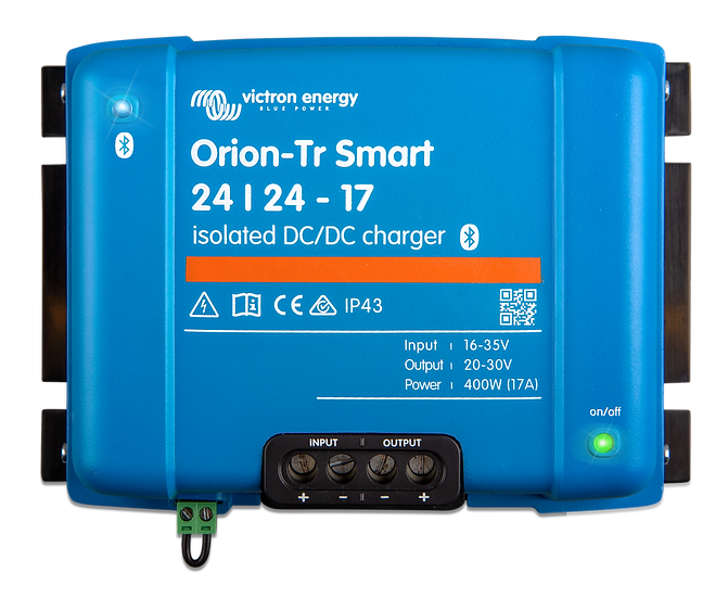 Orion-Tr Smart 24/24-17A (400W) Isolated DC-DC charger