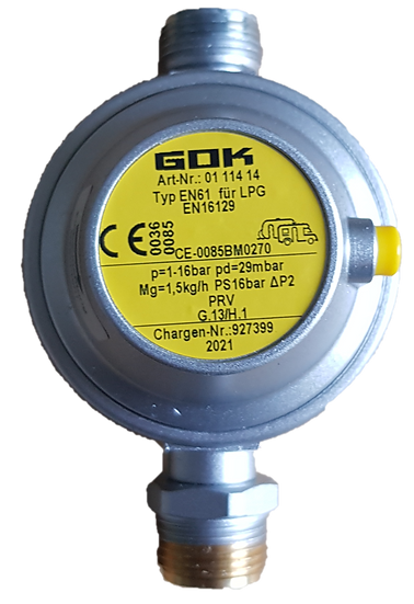 DETENDEUR GOK GAZ 1,5KG/H 29MBAR (30)