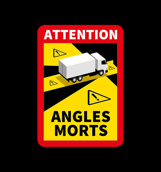 Stickers angles morts pour VI et SR, lot de 3