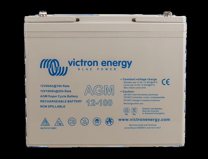 VICTRON 12V/100Ah AGM Super Cycle Batt. (M6)