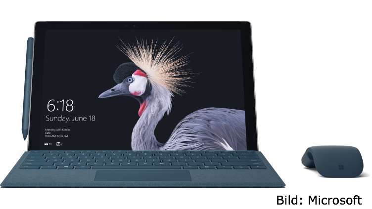 CO4S,Surface,Microsoft,Collaboration,t3n