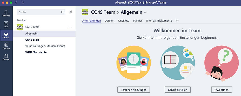 Microsoft,Teams,CO4S,Collaboration,Messenger,Launch
