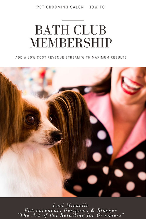 Bath Club Membership | Digital Download