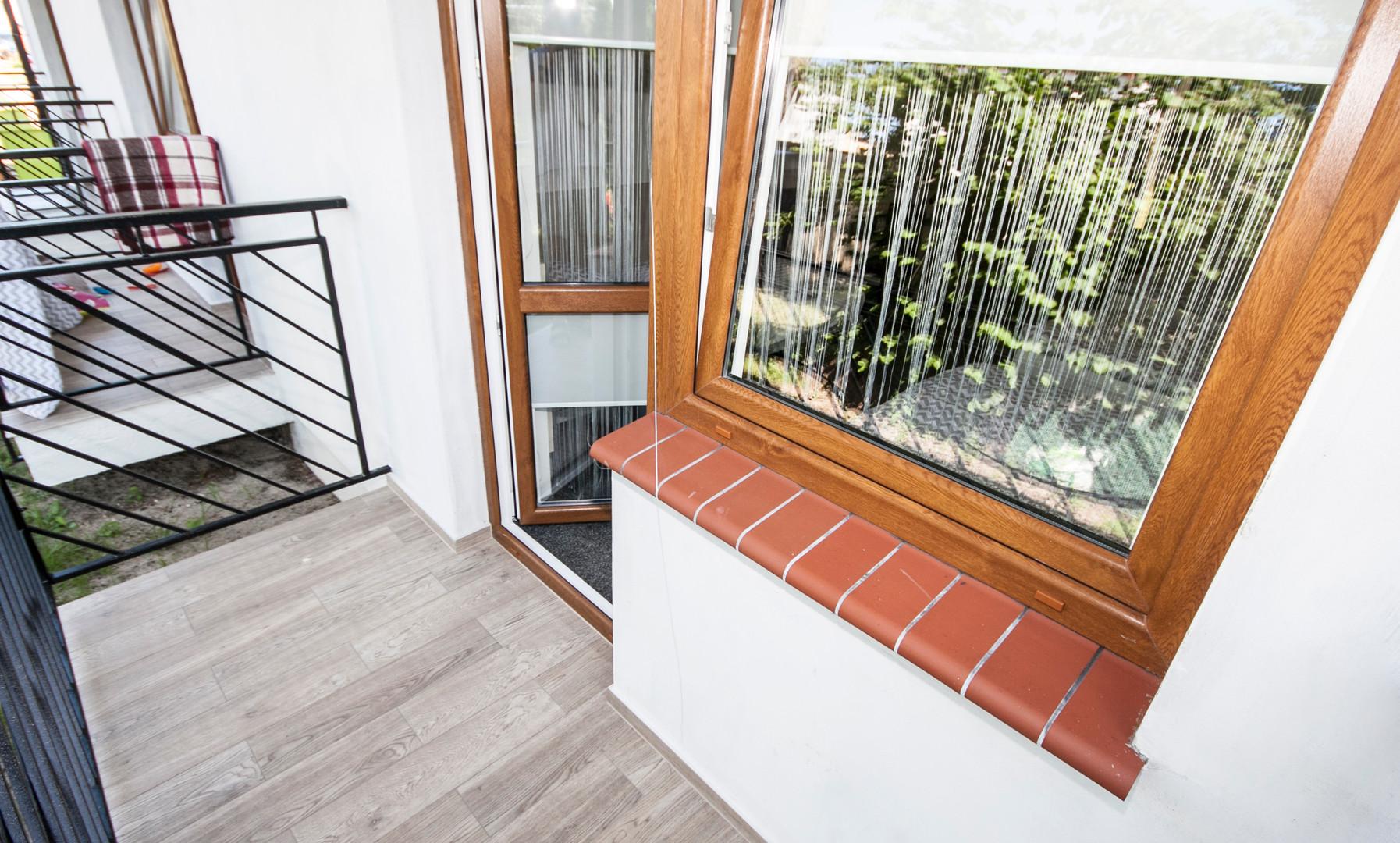 Balkon Galeriegebäude