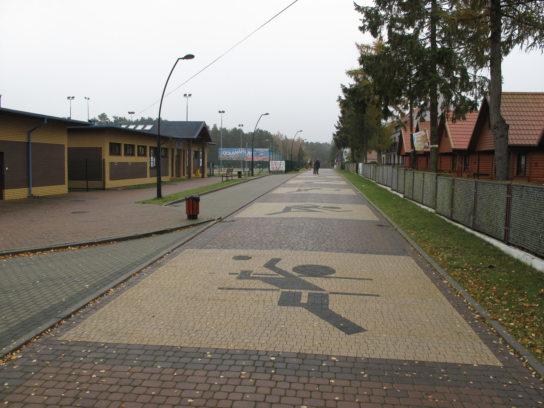 Weg zur Sportanlage
