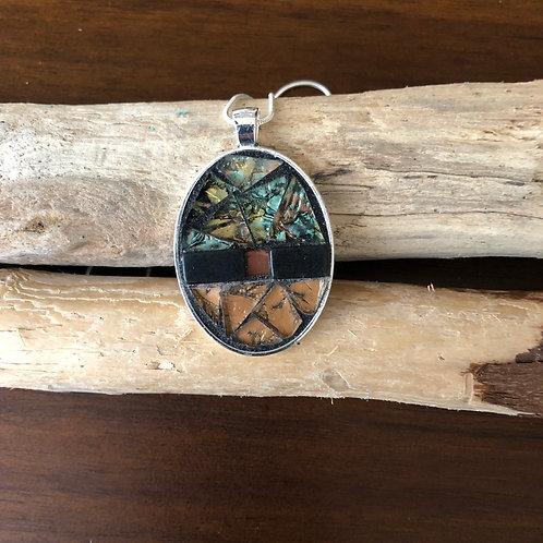 Mosaic Jewelry Pendant #12