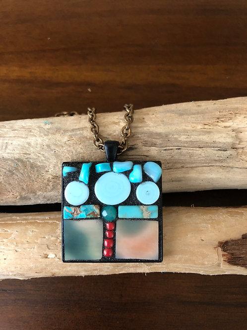Mosaic Jewelry Pendant #8