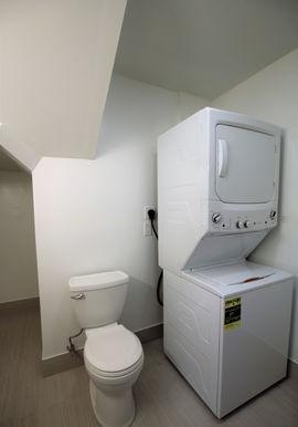 Bathroom & In Unit Washer/Dryer