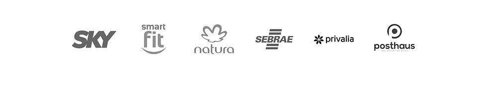 SKY; Smartfit; Natura; Sebrae; Privalia; Posthaus