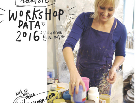 Nieuwe workshop data - November en  December