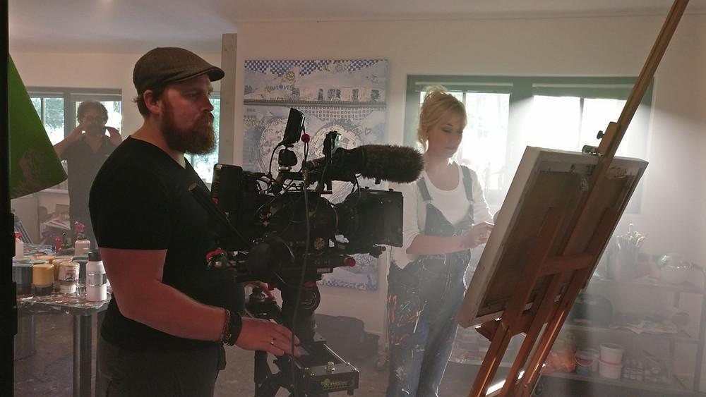 Joas Bruggraaf, geweldige cameraman!