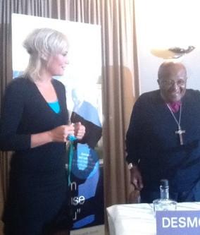 Bisschop Tutu & Wilma: tweede ontmoeting