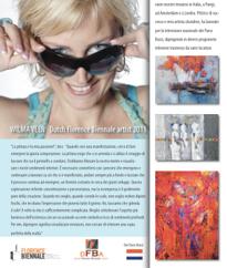 Biennale Florence ... en Wilma is geselecteerd!