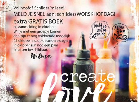 GRATIS BOEK bij workshop oktober