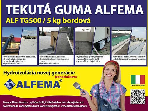 ALF TG500 / 5 kg bordová