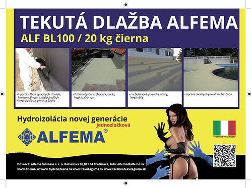 ALF BL100 / 5 x 20kg čierna SET