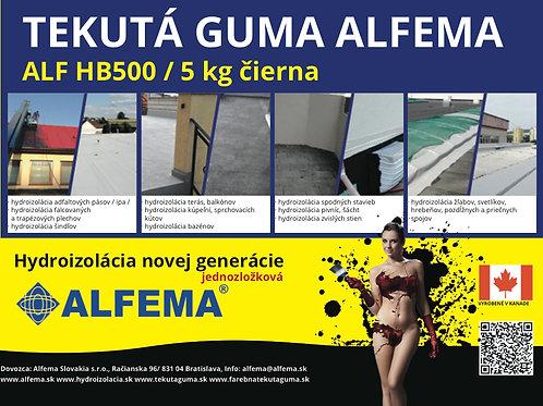 ALF HB500 / 5 kg čierna